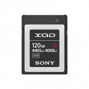 SONY CARTE XQD TYPE G 120GB