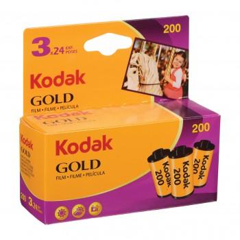 KODAK GOLD 200 135 24 POSES...